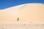 A piedi tra le dune